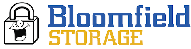 Self storage bloomfield logo