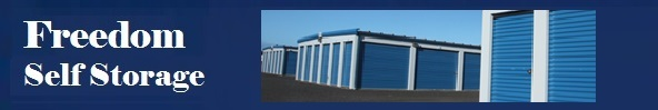 Ess freedom self storage banner