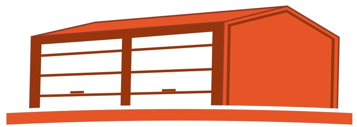 Logo building crop