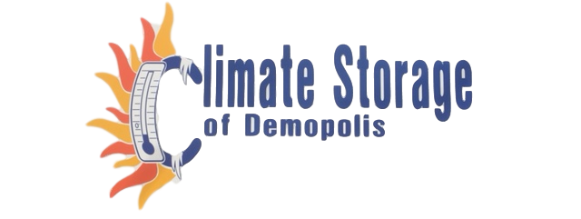 Climate storage of demopolis logo