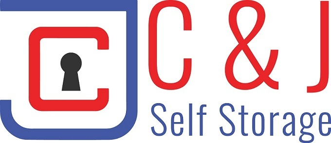 Cj self storage logo