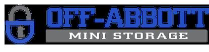 Off abbott storage logo copy