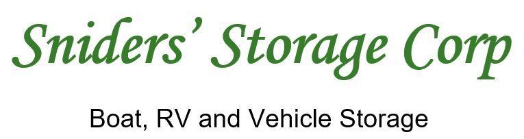 Sniders storage logo