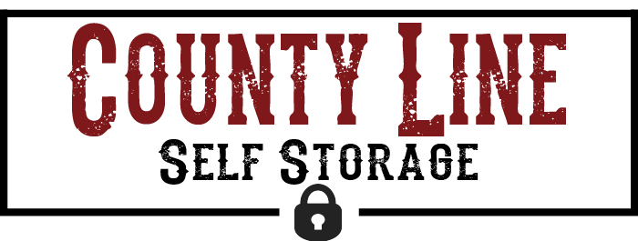 County line self storage logo