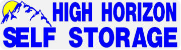 High horizon self storage logo