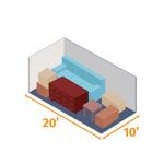 Small storage unit 20x10