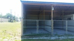 Small storage shed 38