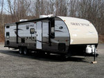 Small 35  travel trailer