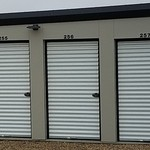 Small pss storage 5 x 10 unit doors