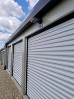Small pss storage unit doors light