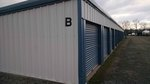 Small bartlett self storage b units
