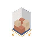 Small storage unit 5x5