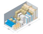 Small storage unit size estimator 10x20 business everett downtown storage 1