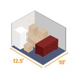 Small storage unit 12.5x10