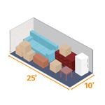 Small storage unit 25x10