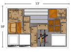 Small 10x15 storage unit 300x214