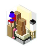 Small 5x7.5 storage unit
