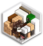 Small 10x10 storage unit