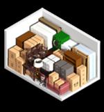 Small 10x15 storage unit