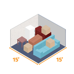 Small storage unit 15x15