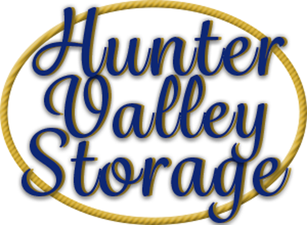 A view of the Hunter Valley Storage logo.