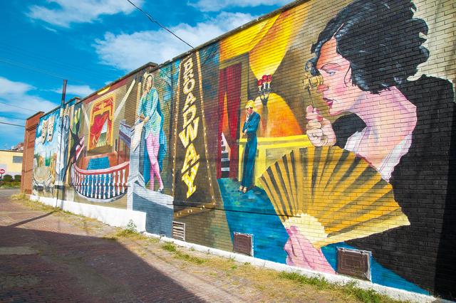 Medium mural