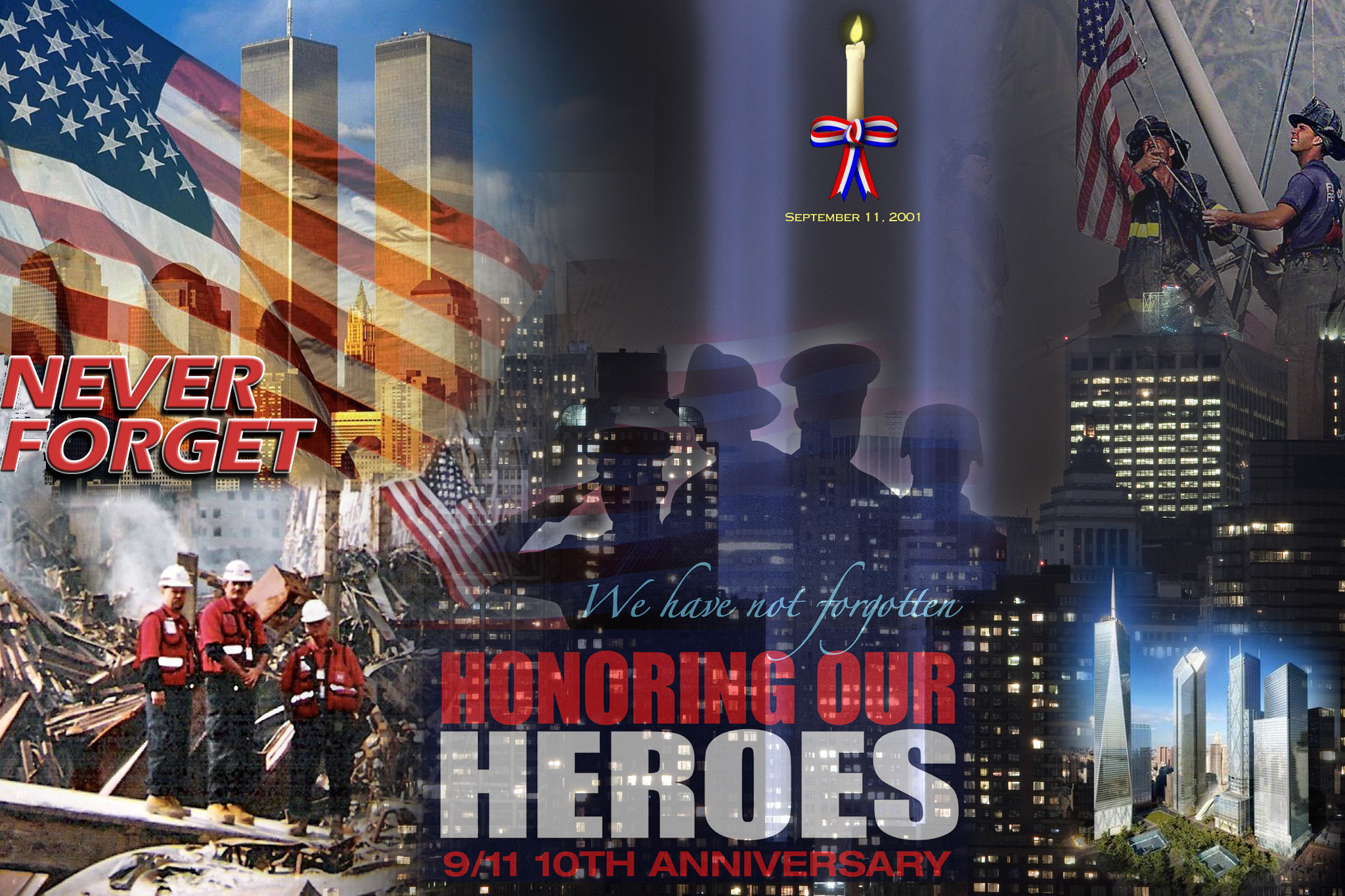 Carbondale Self Storage remembers..  Thank you first responders!