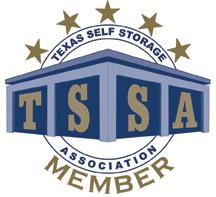 Logo of the Texas Self Storage Association.