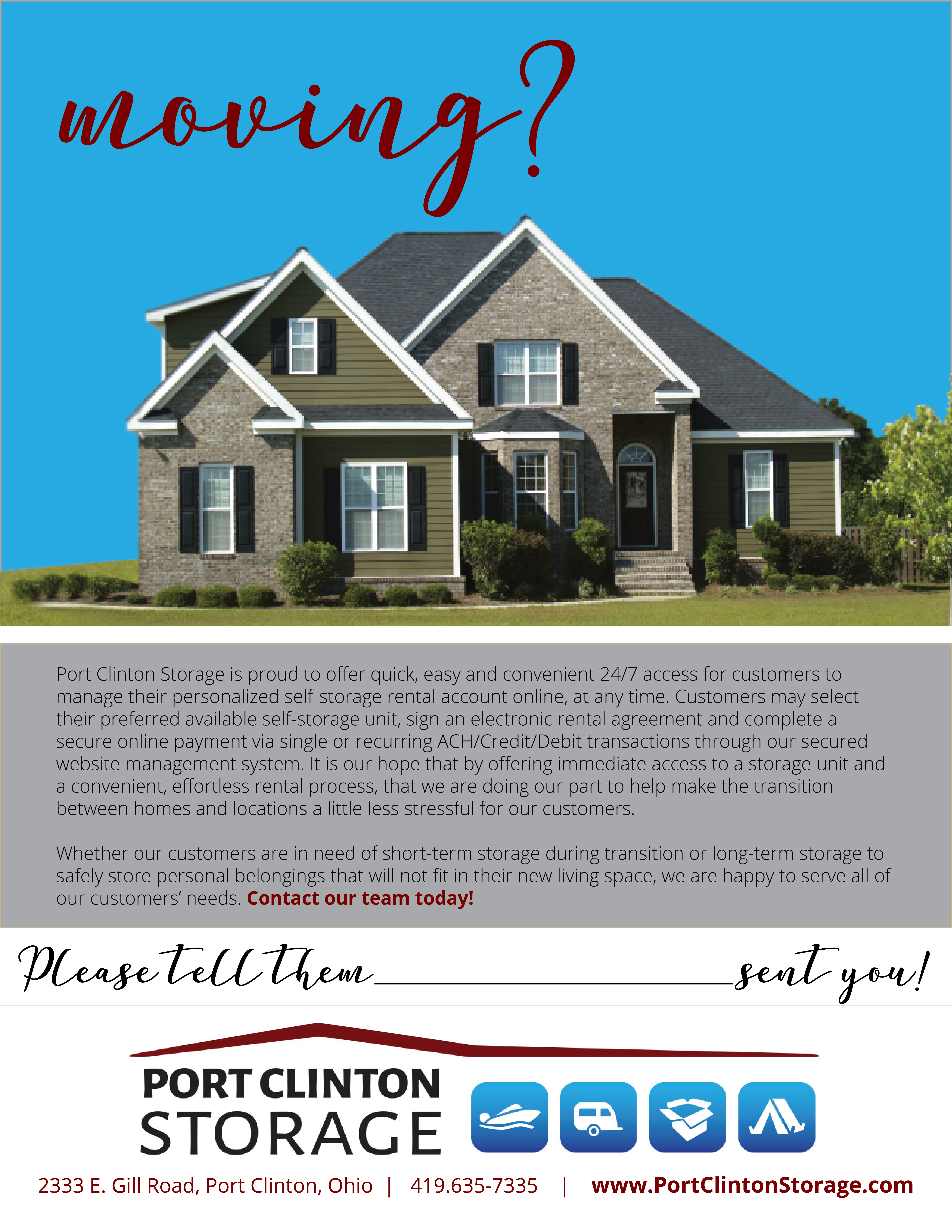 Realtor-Moving Flyer