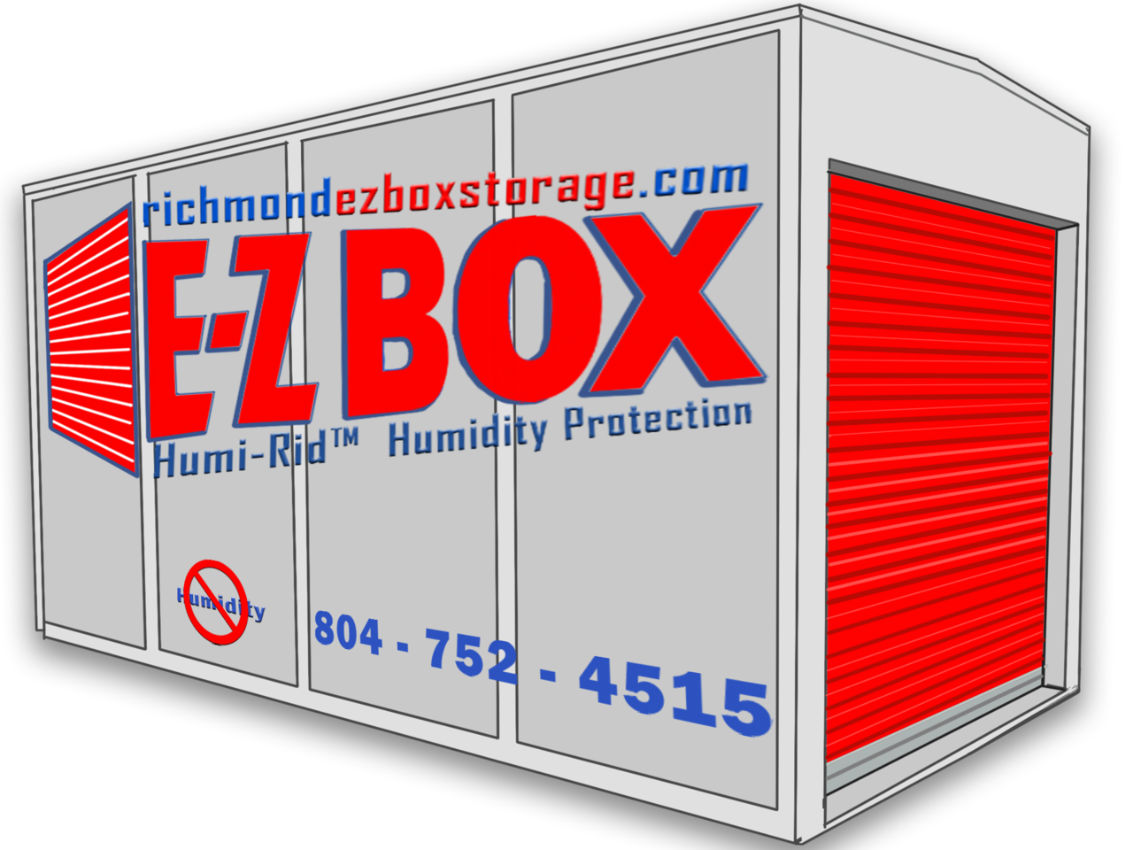 E-Z Box Portable Storage Unit