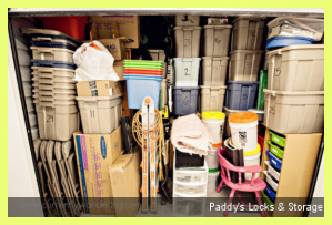 Packed Stacked Full Storage Unit