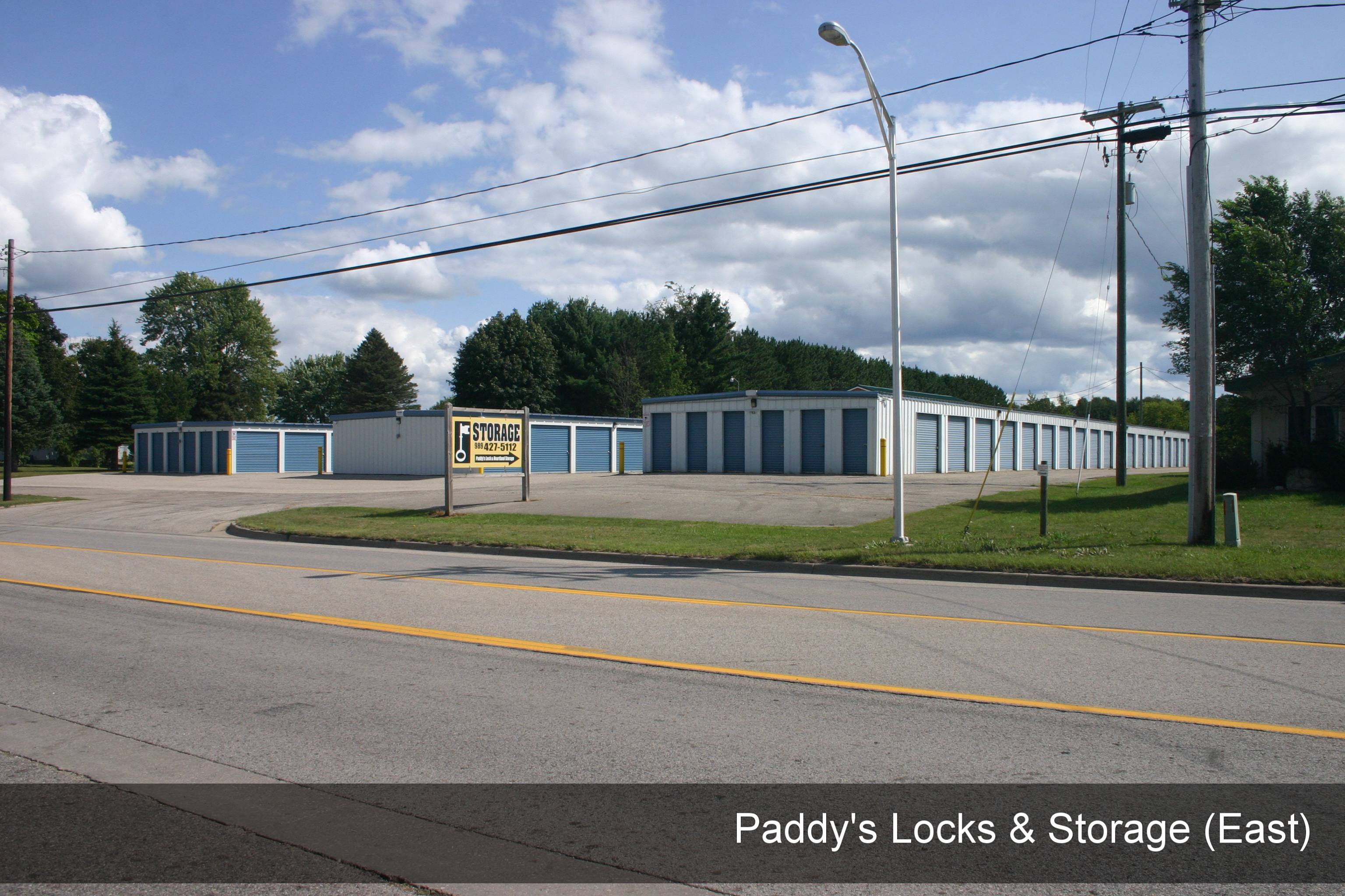Paddy's Locks & Storage (East), Edmore MI