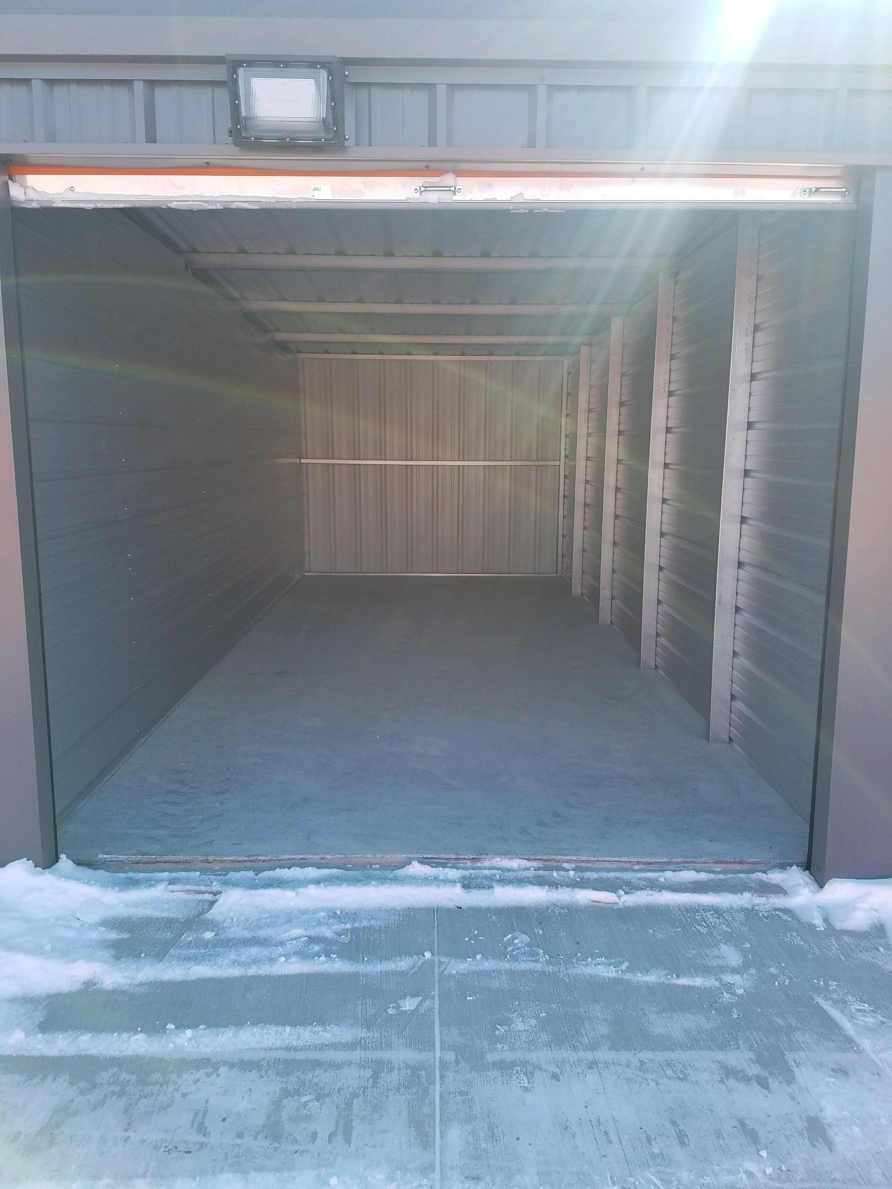 10' x 25' Self Storage Unit in Solon, Iowa at V' s Self Storage (full image)