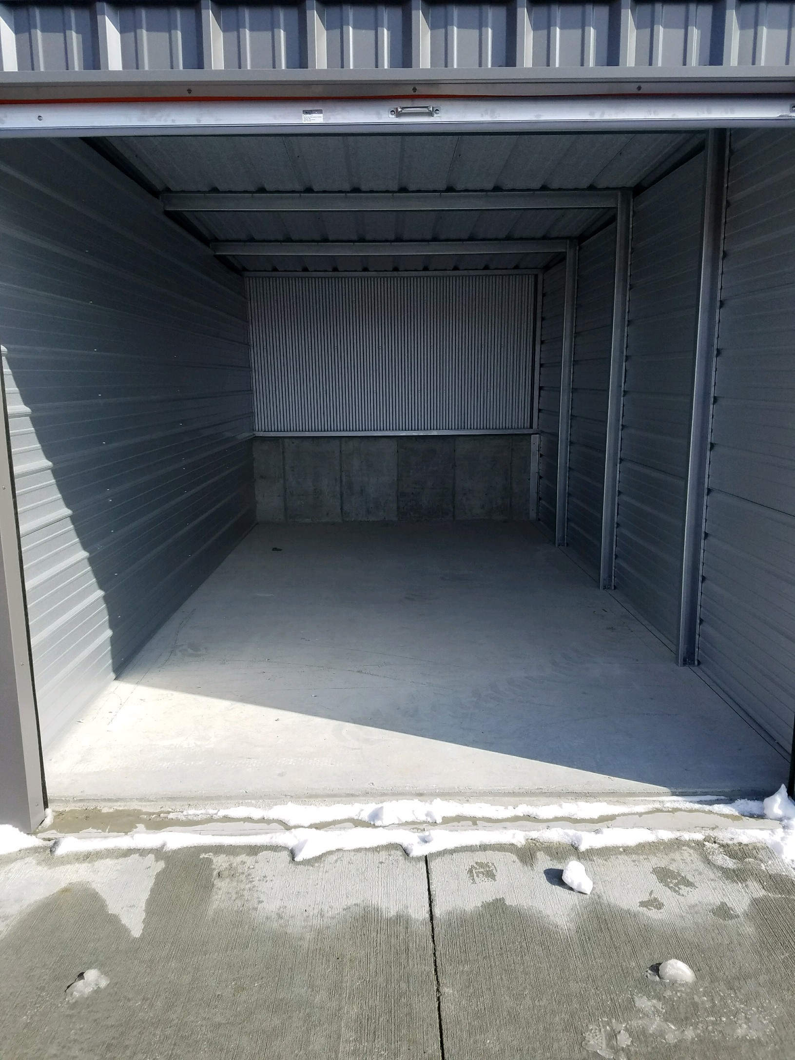 10' x 20' Self Storage Unit in Solon, Iowa at V' s Self Storage