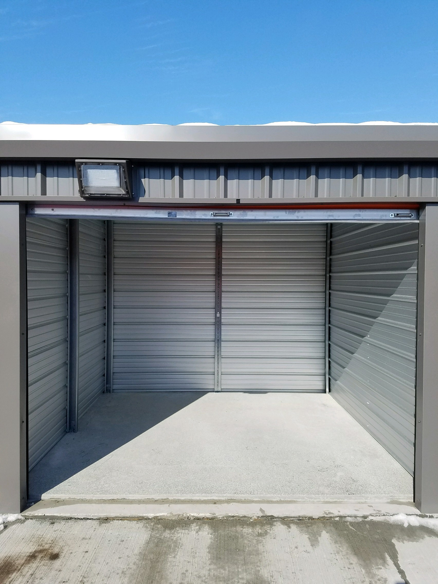 10' x 10' Self Storage Unit in Solon, Iowa at V' s Self Storage