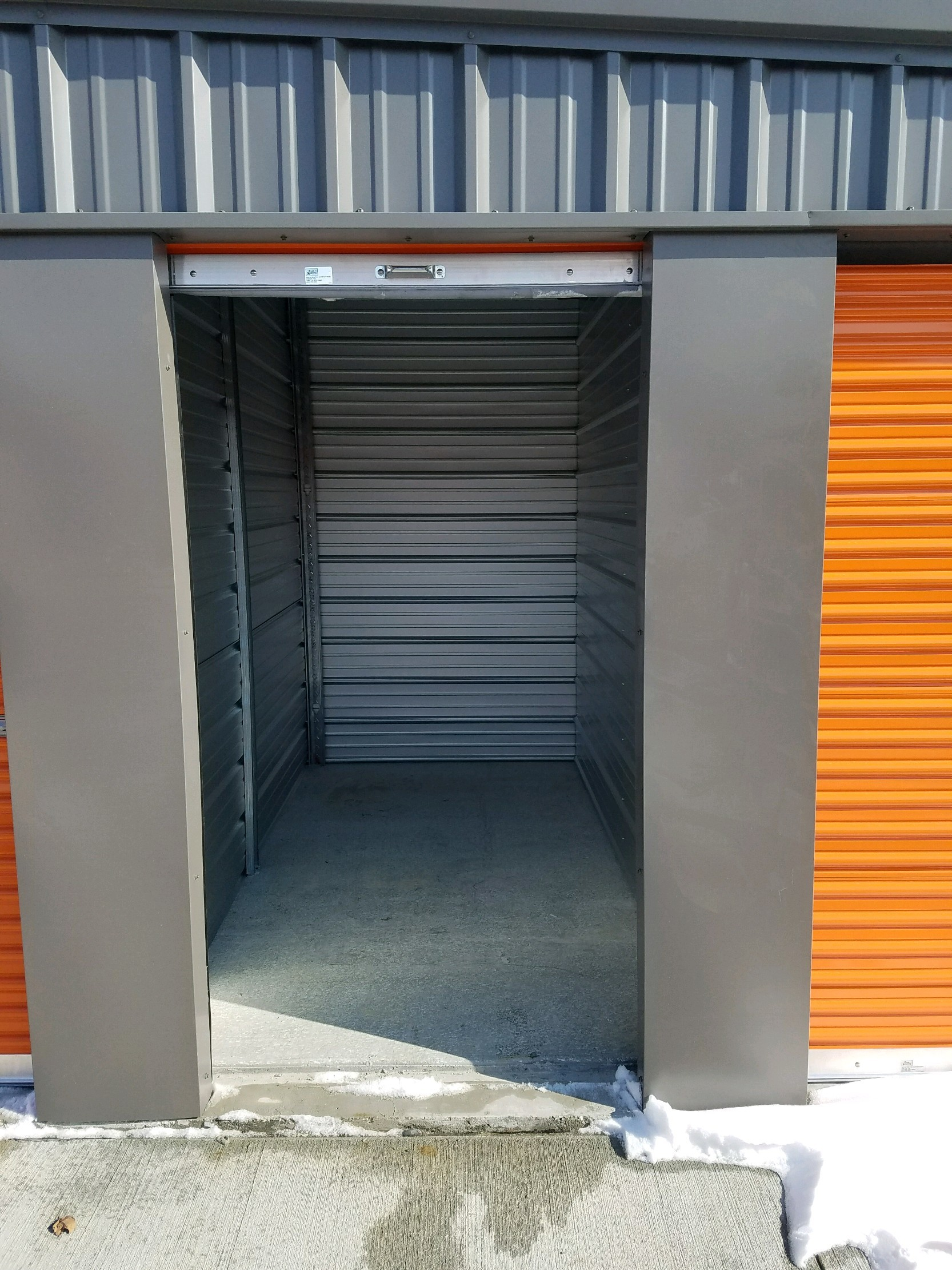 5' x 10' Self Storage Unit in Solon, Iowa at V' s Self Storage