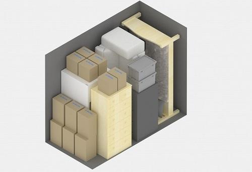 Cornerstone Storage Size Guide