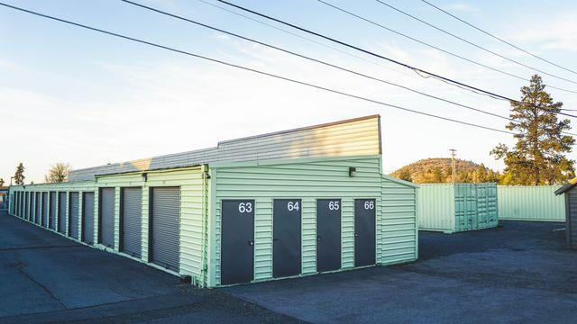 Medium blue elephant storage  scott street 8