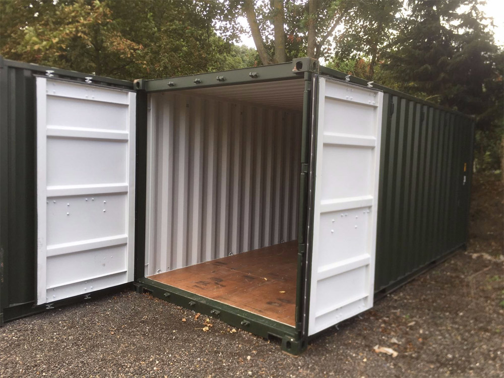 our container storage