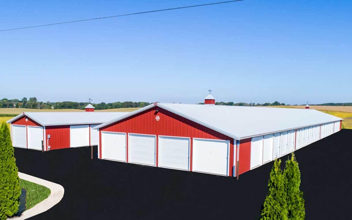 Powder Hill Storage facility