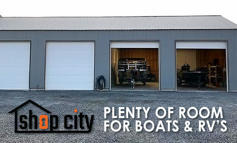 Room For RV Storage and Boat Storage