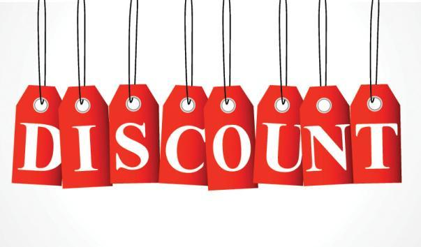 discount promotion promo 15%