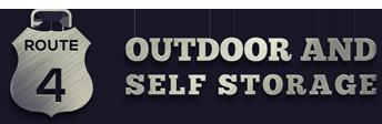 Route 4 Outdoor & Self Storage Logo