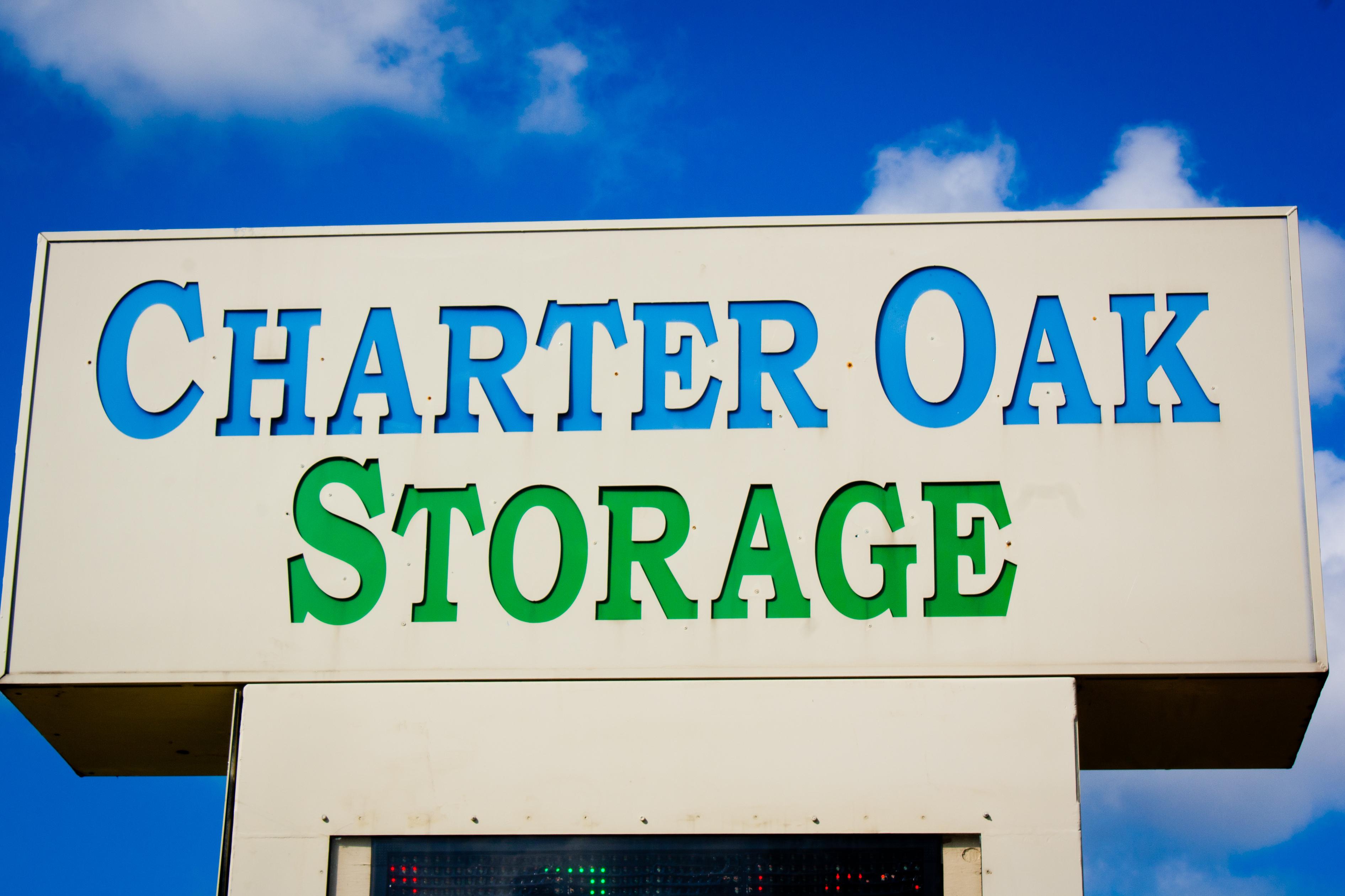 Charter Oak Sign