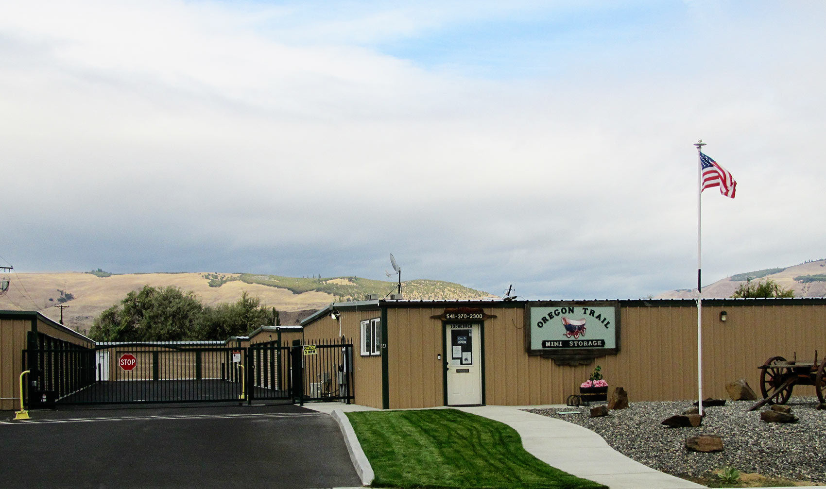 Serving storage needs in The Dalles and Columbia Gorge