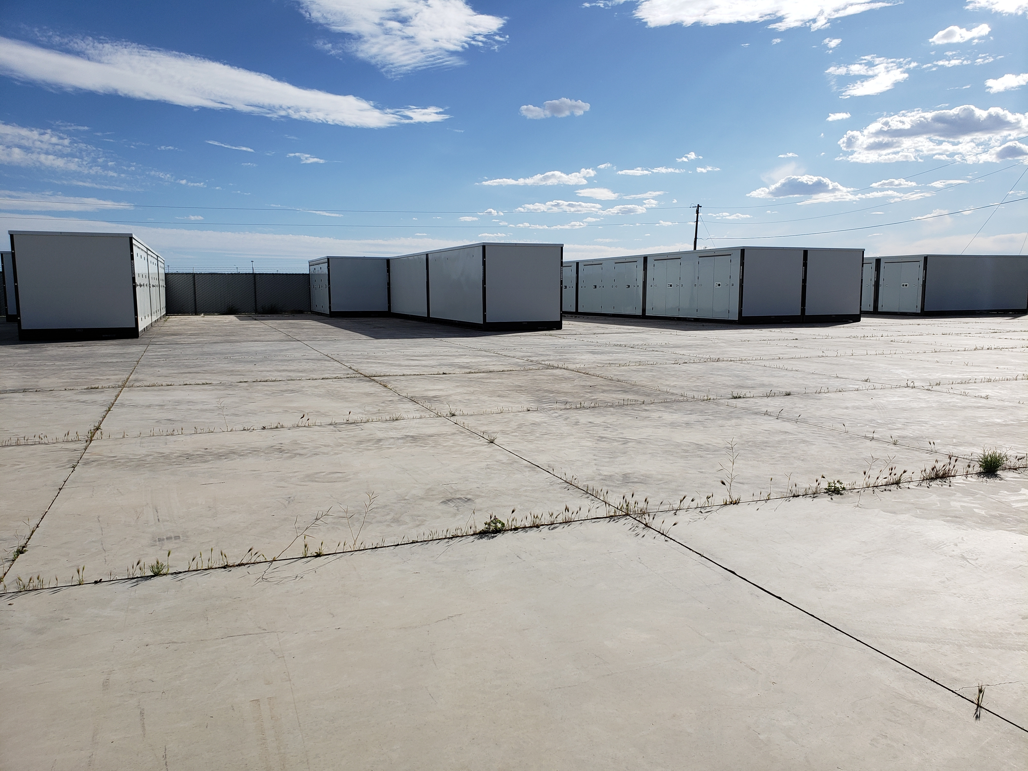 4615 S. Hwy 95 Fort Mohave AZ Storage Pod Enclosed Lockable Units Secure Fencing Lighting Gate