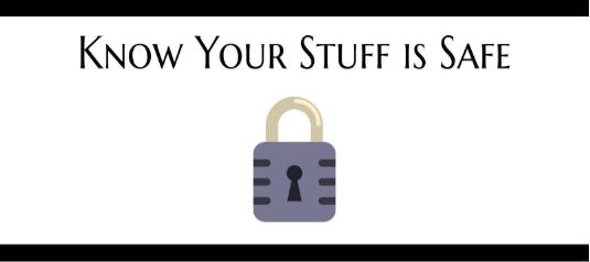 Safe stuff blog image.