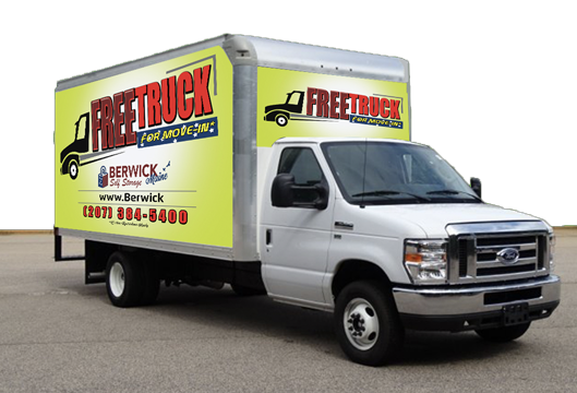 Free Moving Truck with Storage Unit Rental