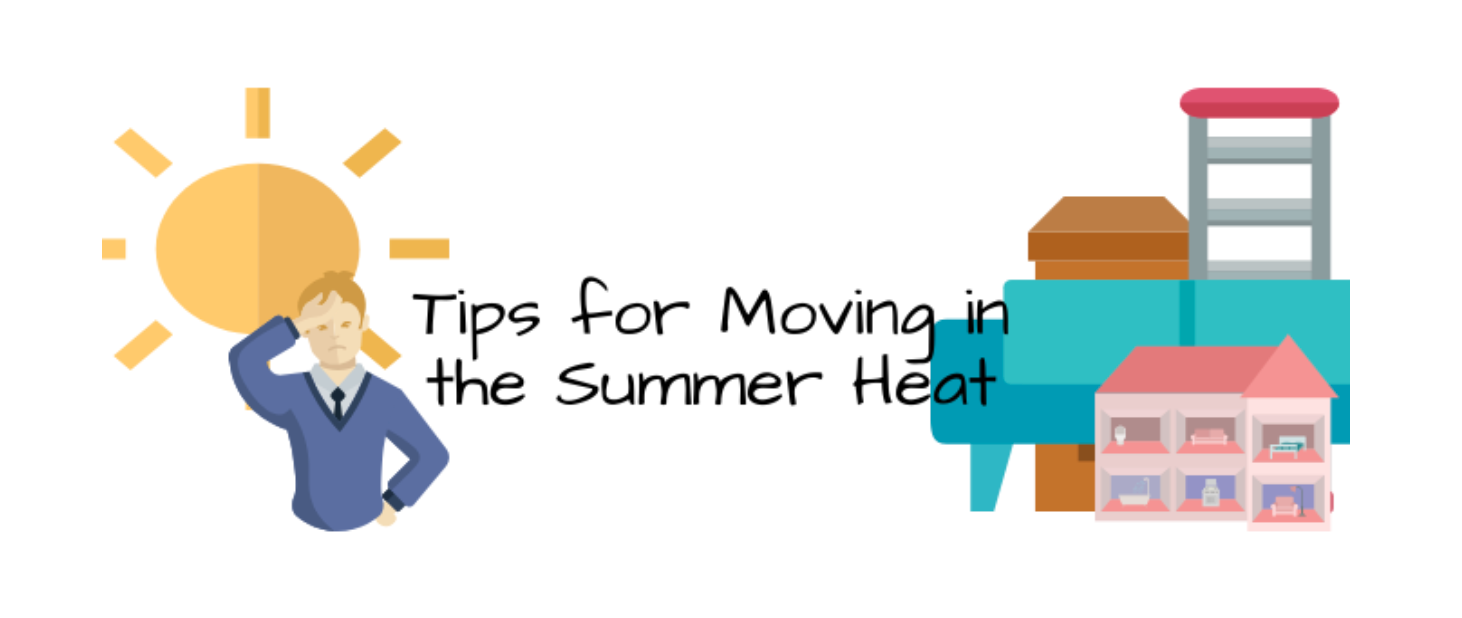 animated tips of moving in the summer heat