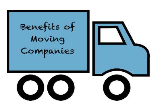 benefits of moving companies blue truck